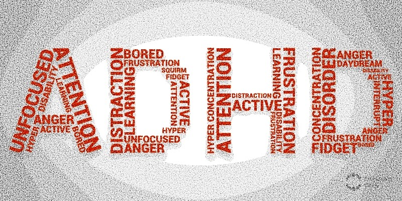 letters of adhd made up of symptoms