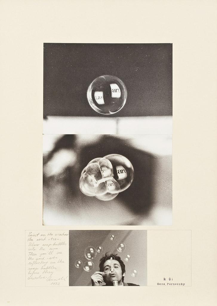 Géza Perneczky Art Bubbles Centre Pompidou collection