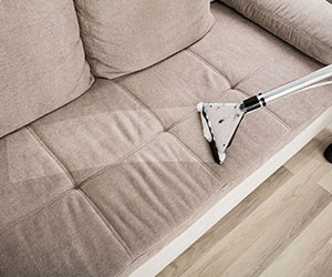 We offer additional cleaning services including upholstery