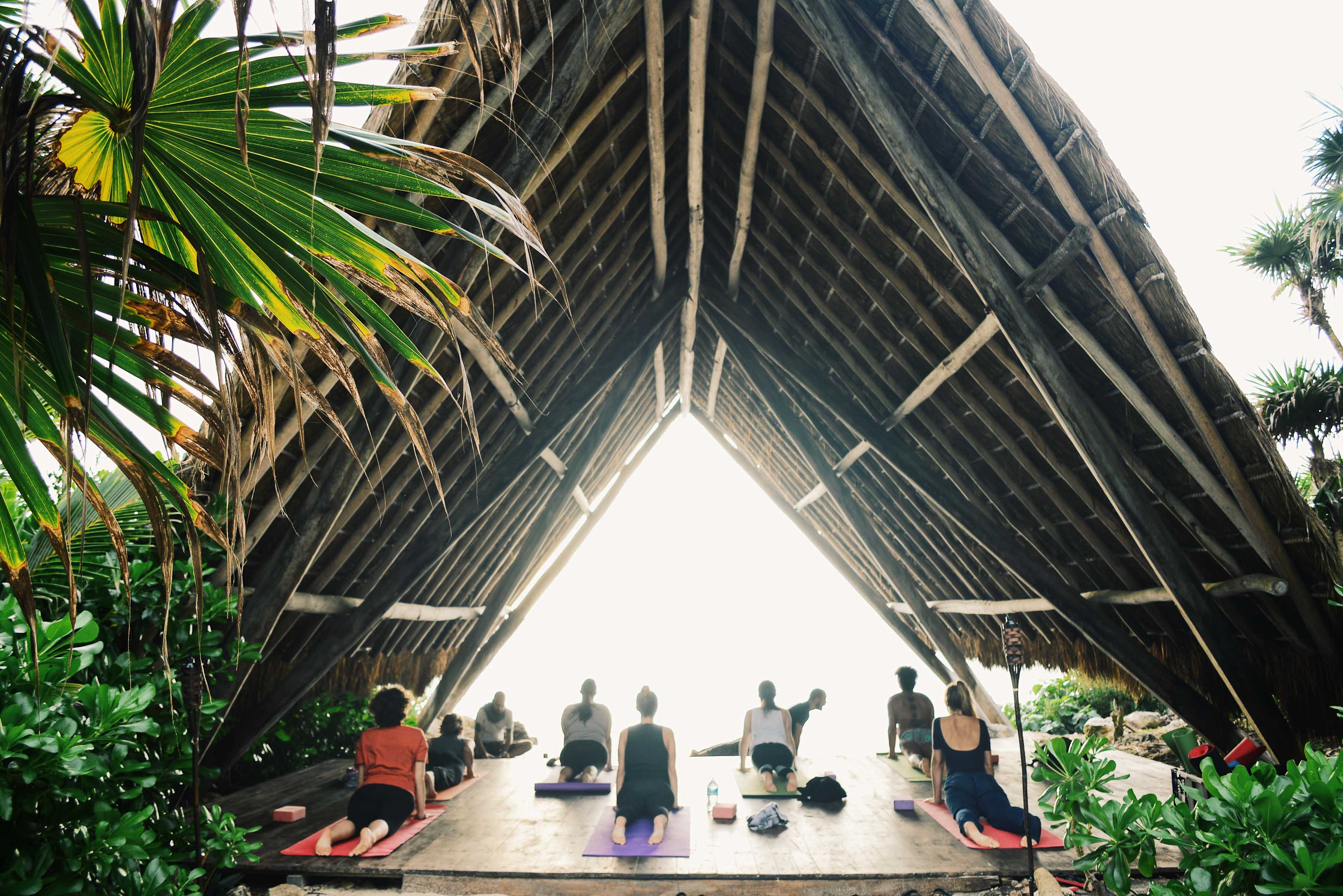 Yoga Deck at PPP