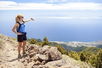 Hiking in La Palma