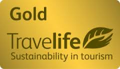 Gold Travelife Sustainability in tourism award