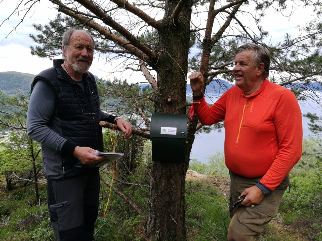 Endre Nordbø og Åsmund Sirevåg