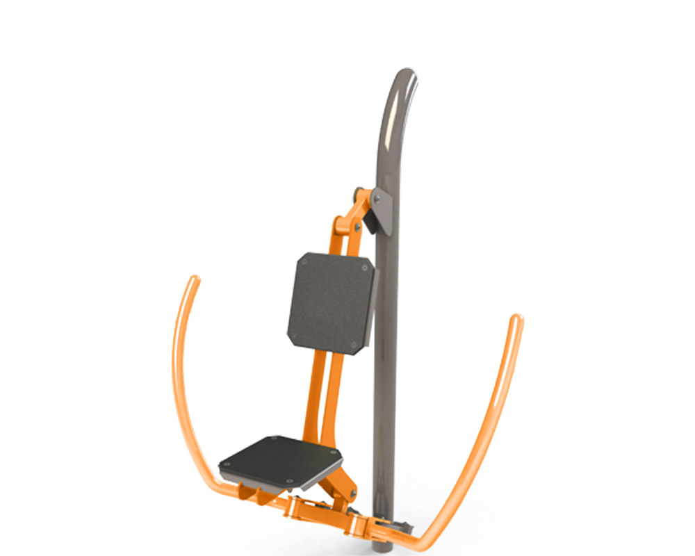 Adult outdoor gym equipment butterfly in
