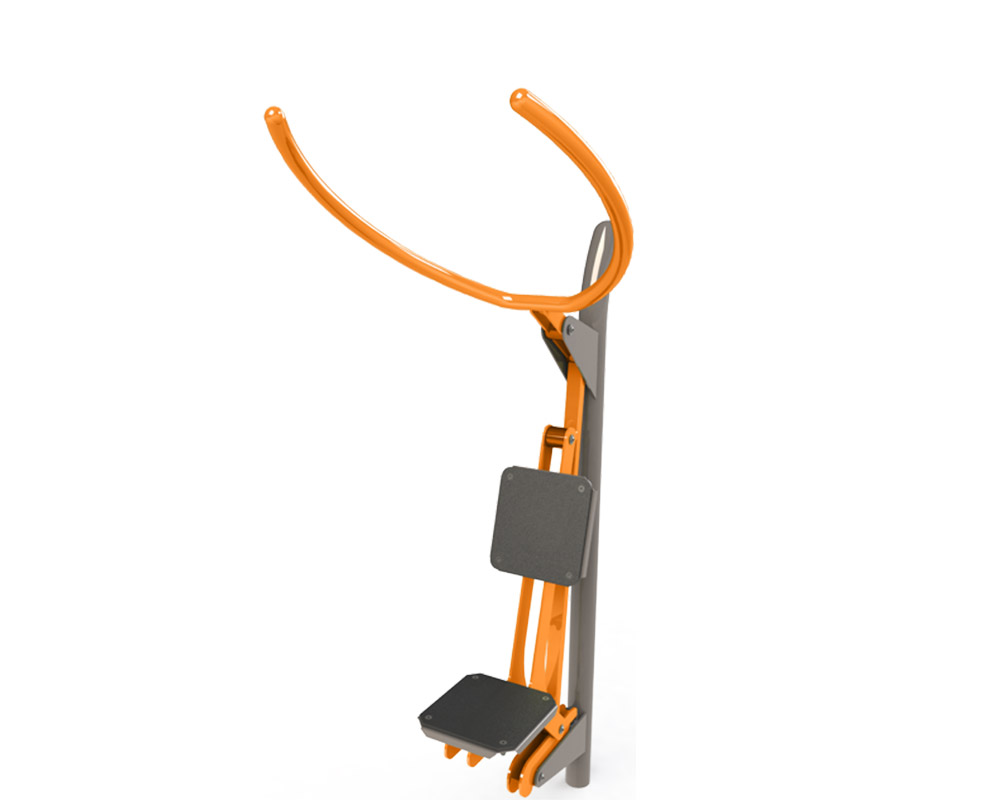 Adult outdoor gym equipment lat pull down