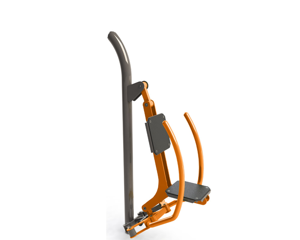 Adult outdoor gym equipment butterfly out