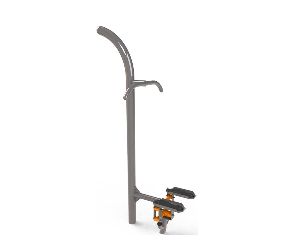 Adult outdoor gym equipment stepper