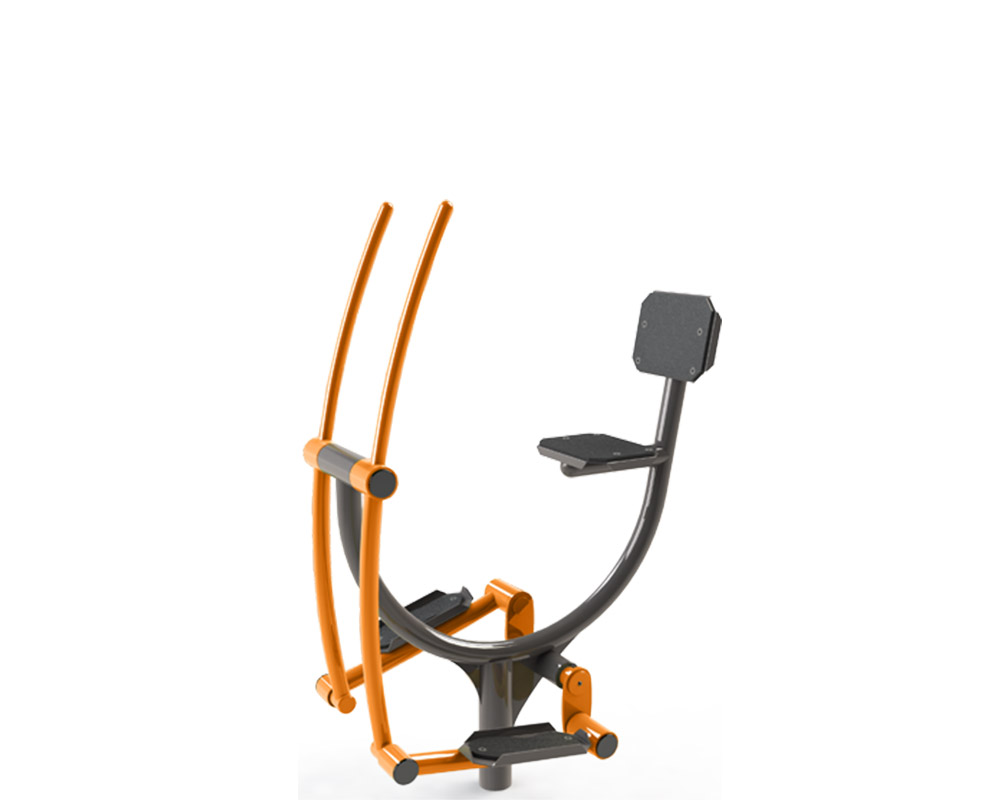 Exercise Bike with Arm Aid