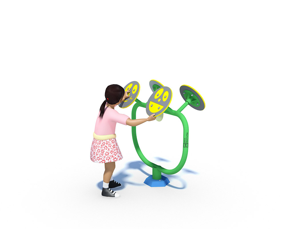a junior outdoor gym tai chi peice of primary school gym equipment