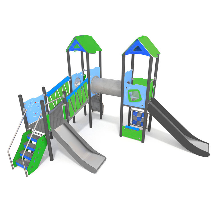 This climbing frame is fun and dynamic