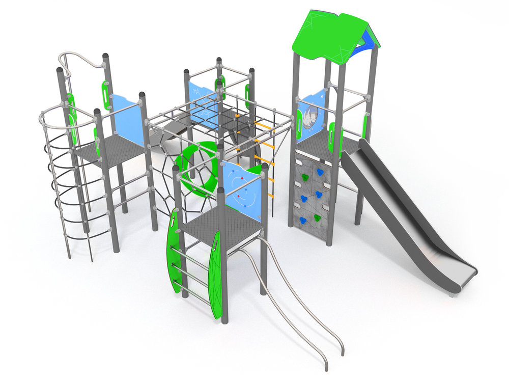 Large Climbing Frame with slides
