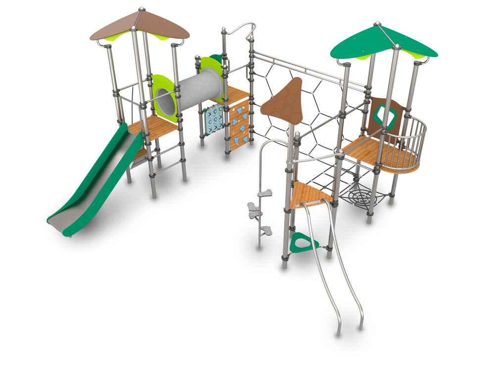 Climbing Frame with slides