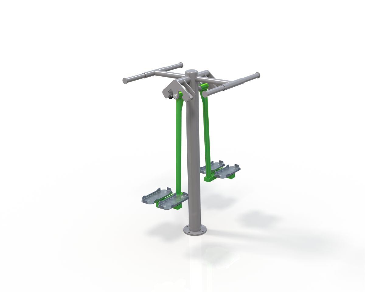 Outdoor Gym Double Ski Trainer