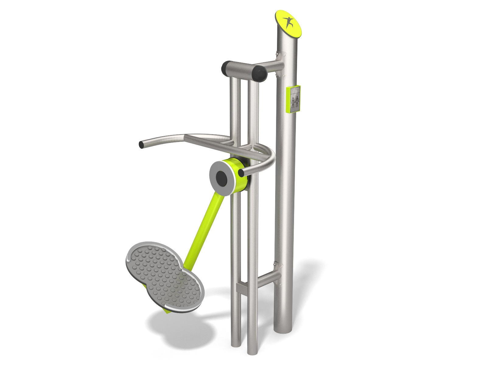 Stainless steel Ski Trainer outdoor gym