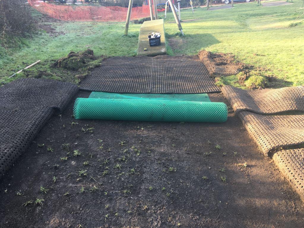 Play Area Refurbishment Works at The Rec Ground Devon