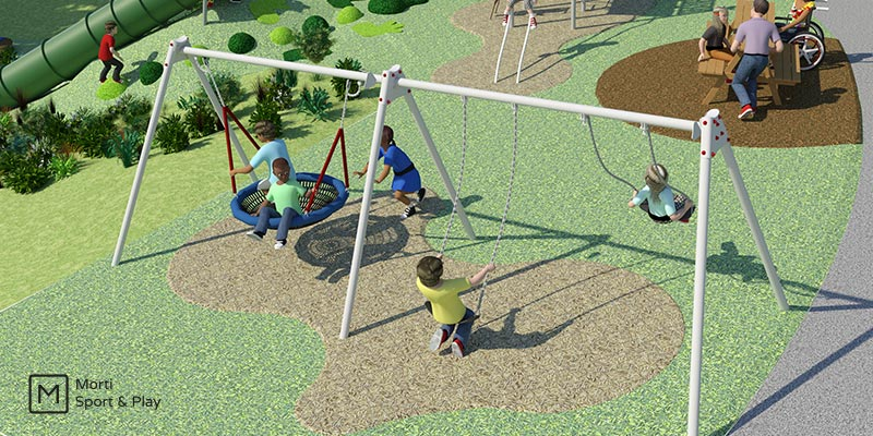 Swing-Play-Area-Design