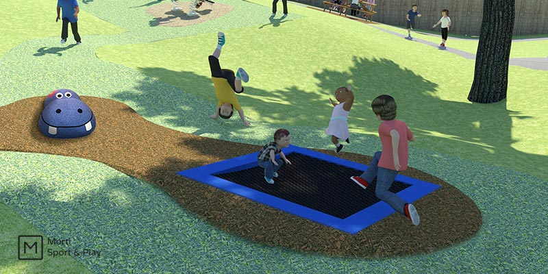 Trampoline-Play-Area-Design