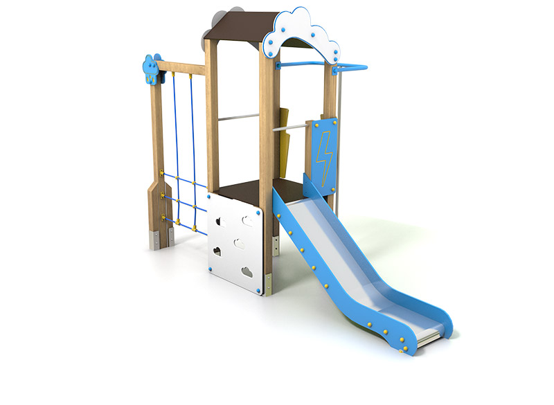 Play Area Slide Structure