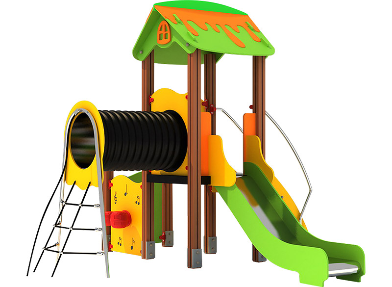 Play Area Equipment Multiplay Structure