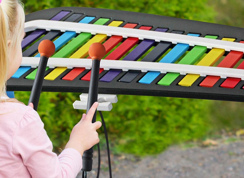 Musical play equipment for schools, councils and commercial play areas