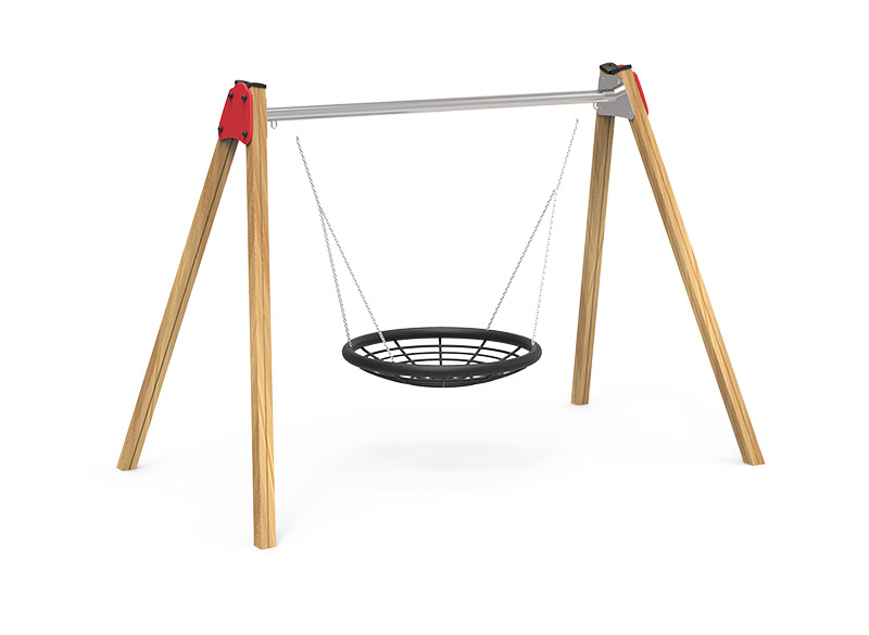 Play Area Equipment Basket Swing