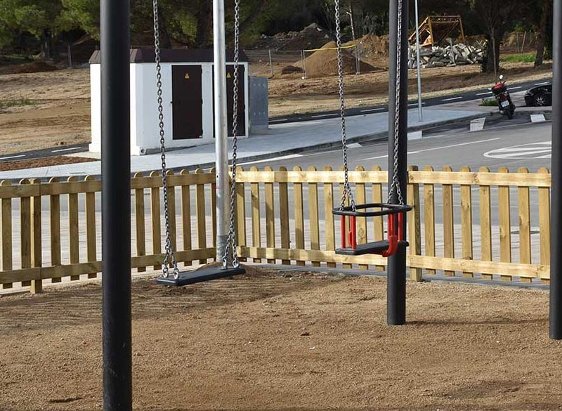 metal swing for parks and playgrounds