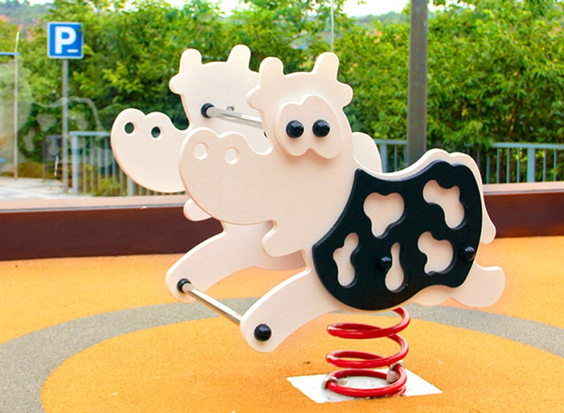Fun farm themed playground and park springer