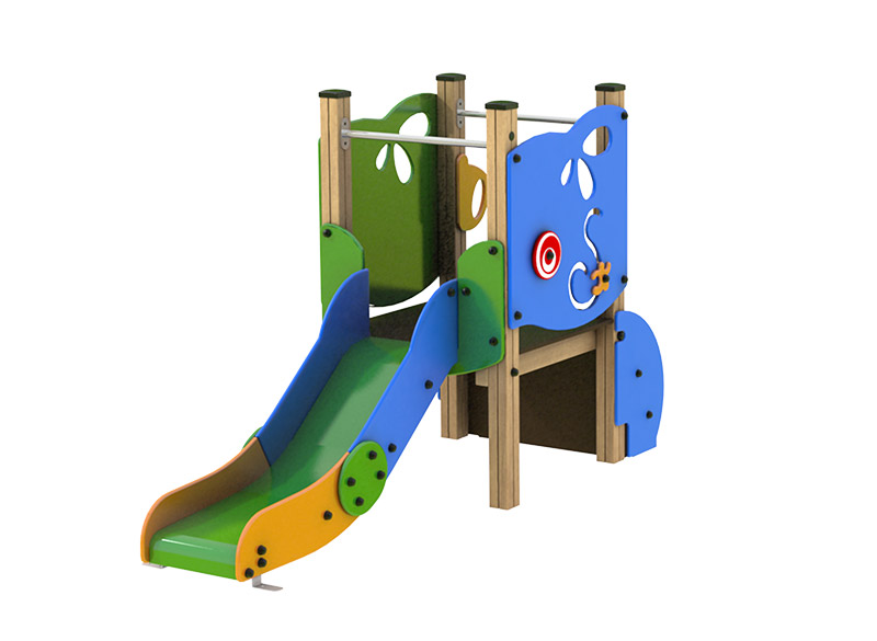 Play Area Equipment Slide Structure
