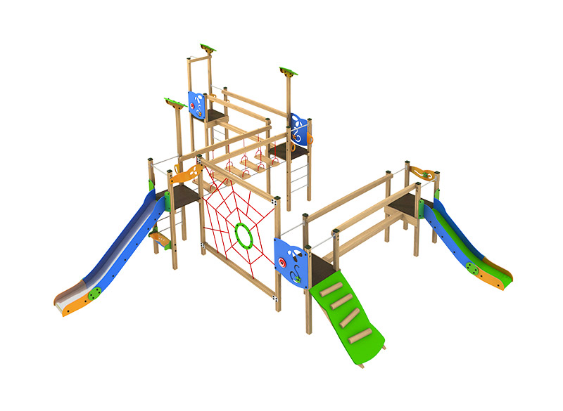 Morti Sport and play multiplay climbing structure