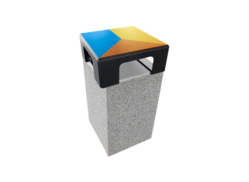 Dado Litter Bin Recycling 3