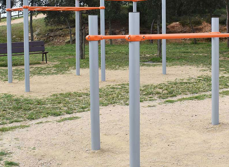 Metal park agility fitness equipment