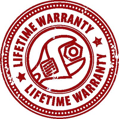 lifetime workmanship guarantee on hvac service installations