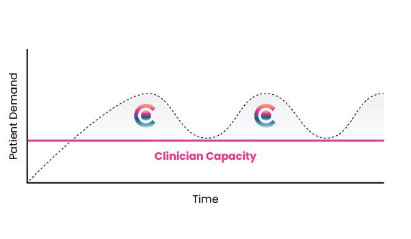 carerev staffing graph
