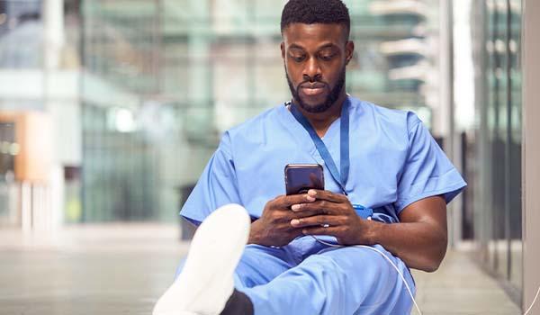 nurse picking up shift carerev marketplace