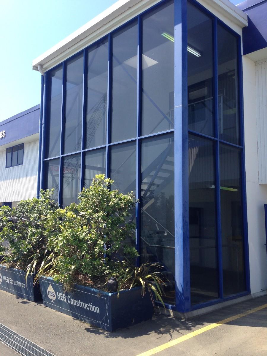 Store front windows in Tauranga by Window Gleam