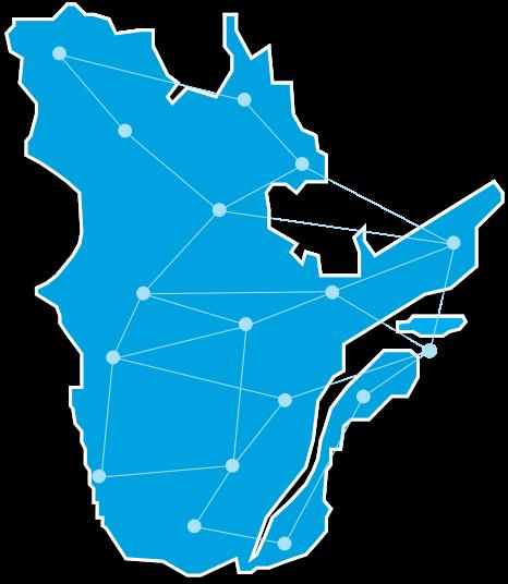 Carte Quebec