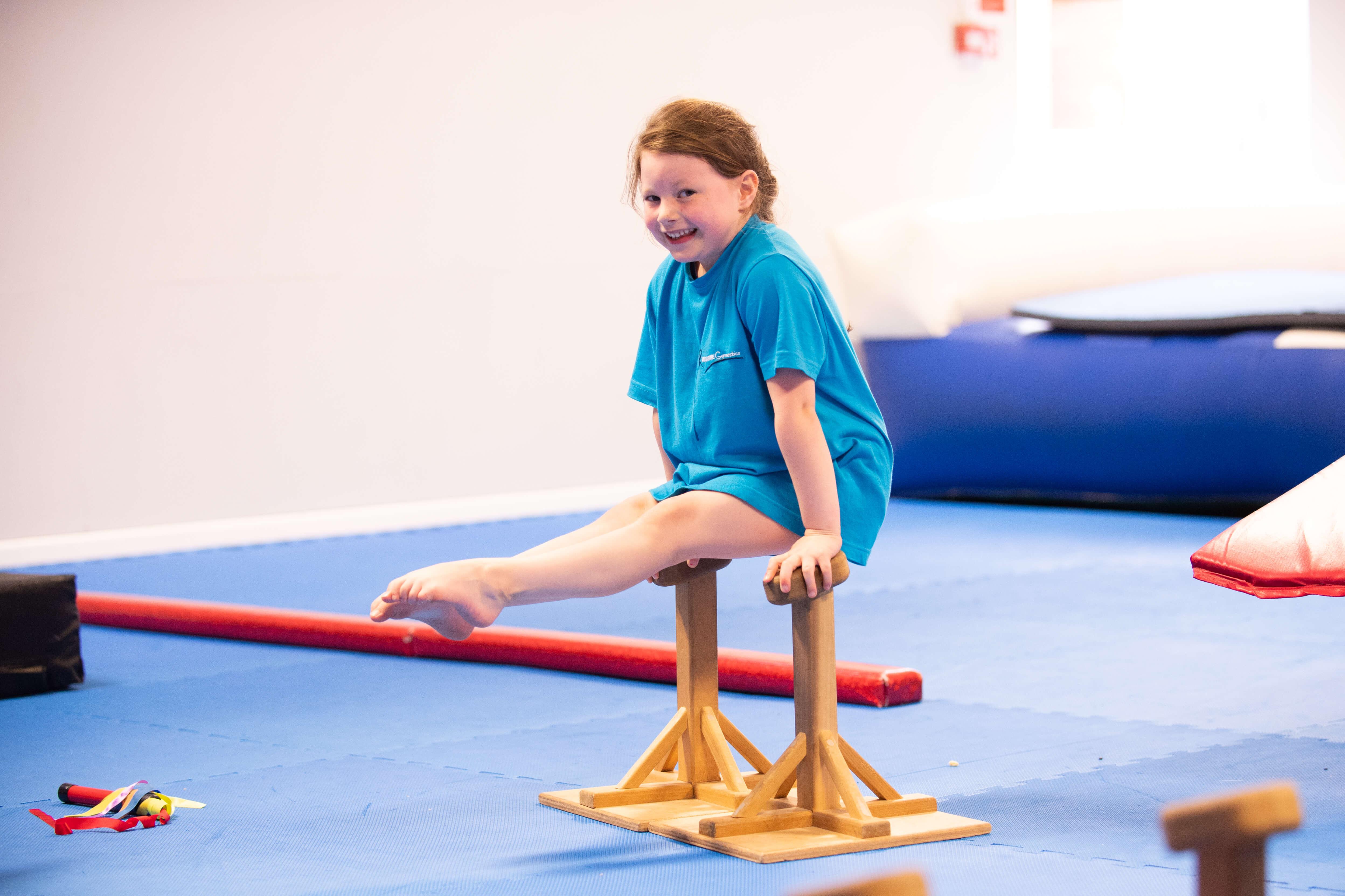 gymnastics session