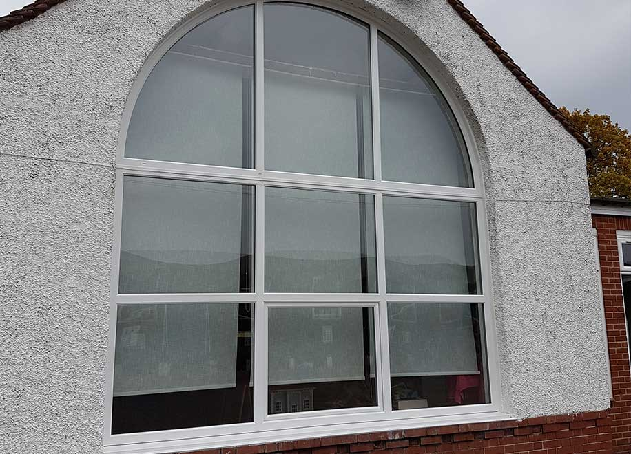 1st glass windows commercial works