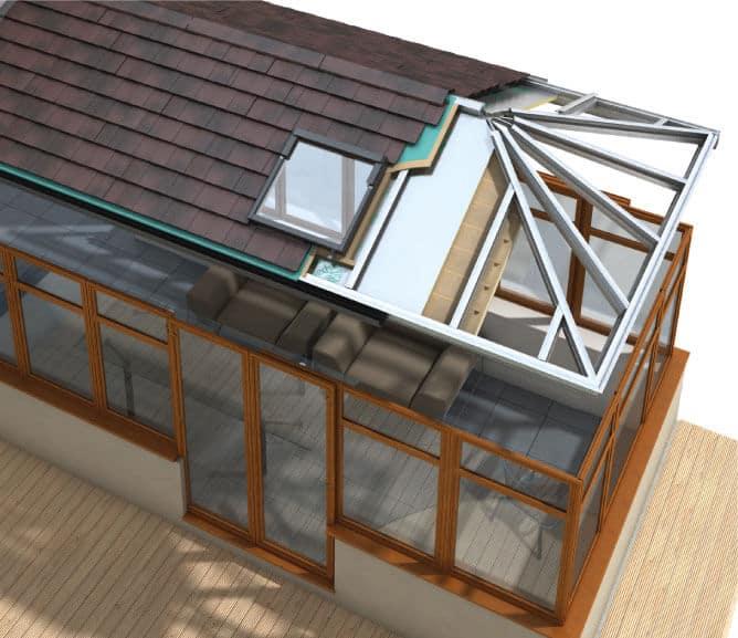 house with solidor door