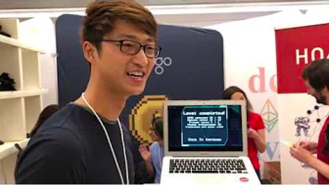 Plasma Dog MVP game demo with Quantstamp CEO Richard Ma