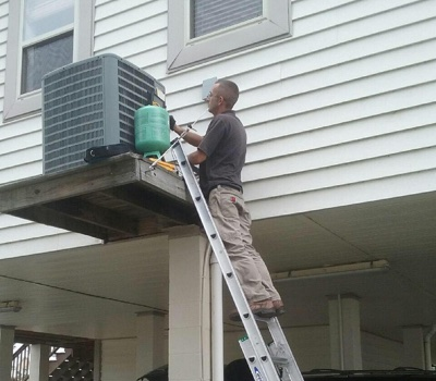 air conditioning repair project in long beach