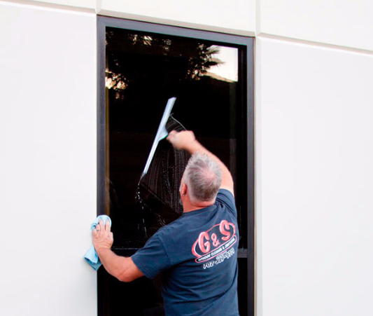 We pay attention to the tiniest of details with each window cleaning project