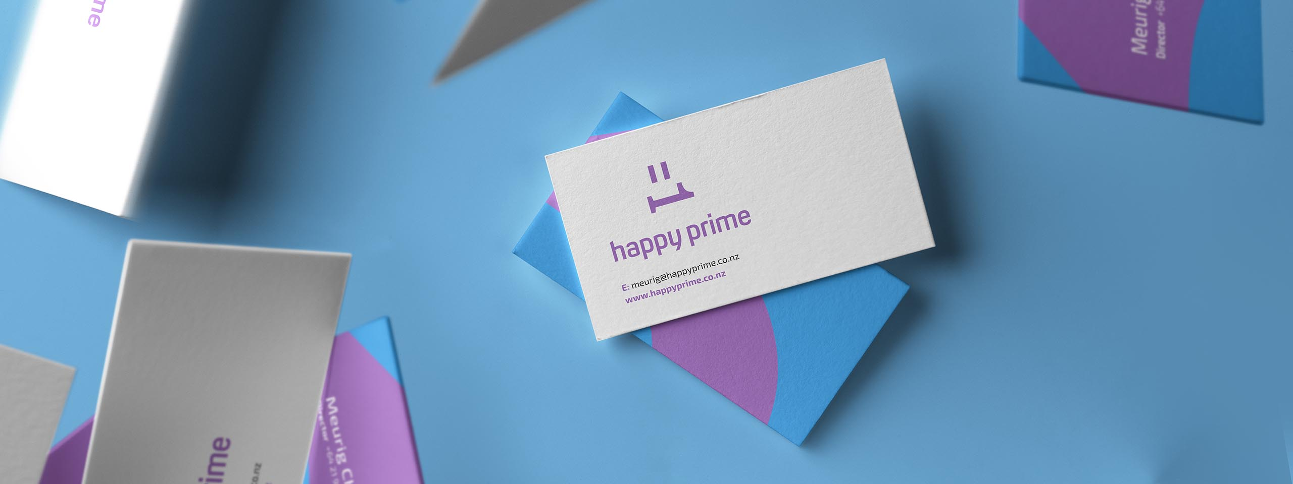happy prime business cards
