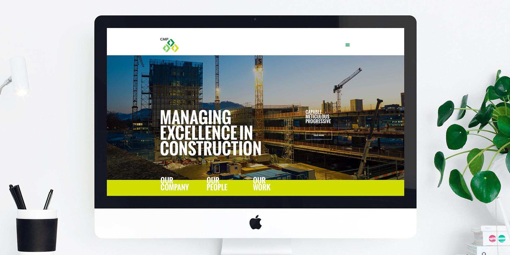 CMP Construction website
