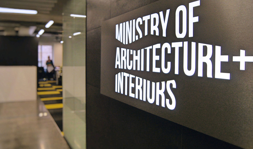 Ministry of Architecture and Interiors office