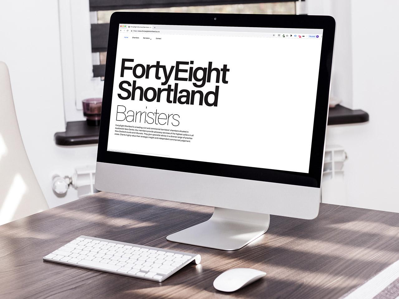 FortyEight Shortland Website
