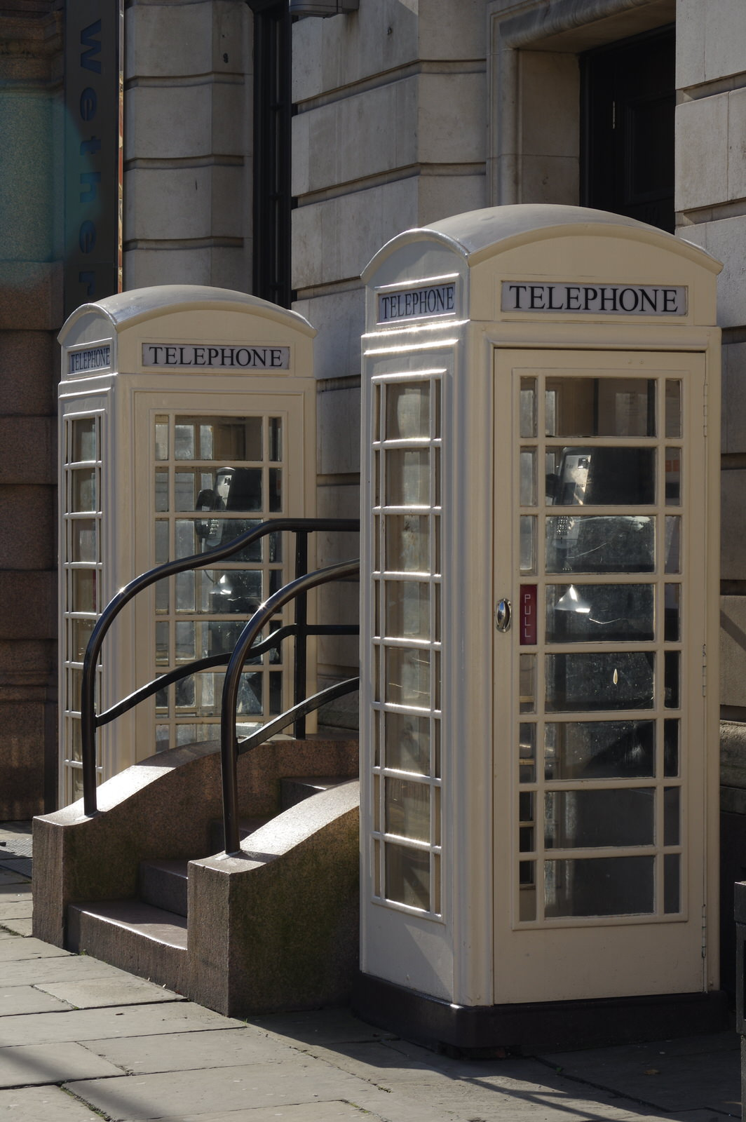 Hull Cream Telephone Boxes