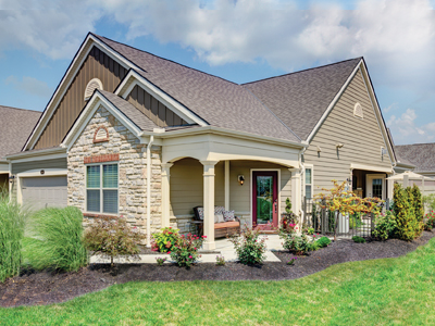 free standing courtyard home