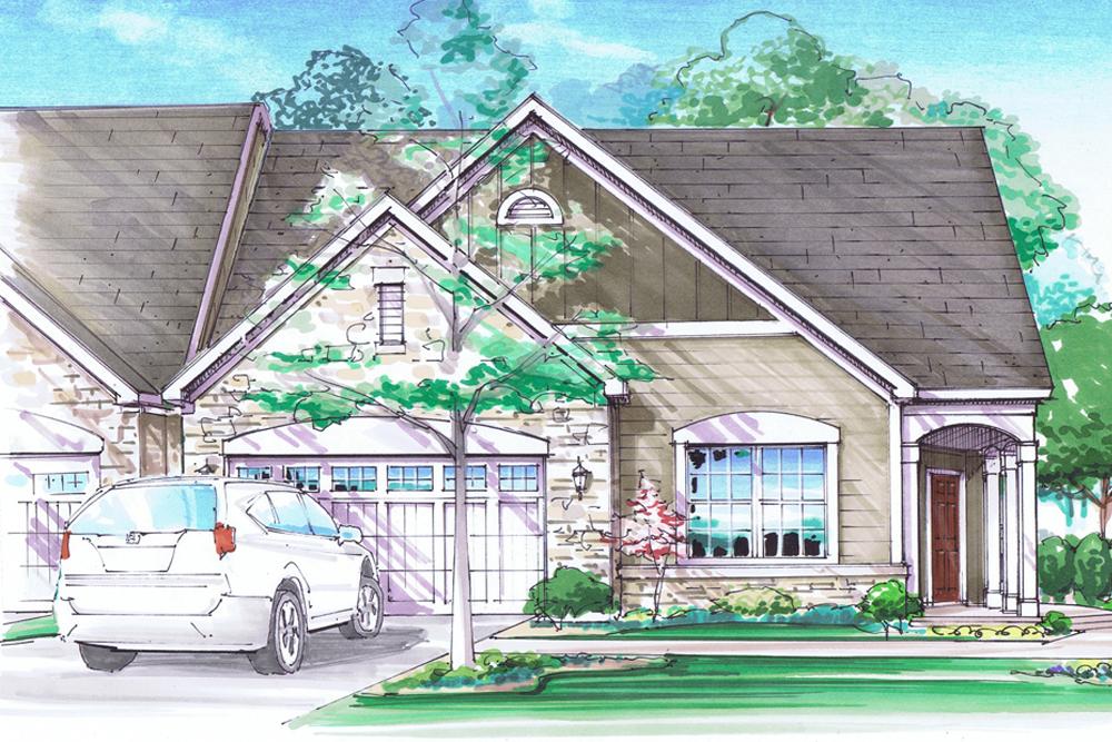 Walker Villas Sanibel Home Plan