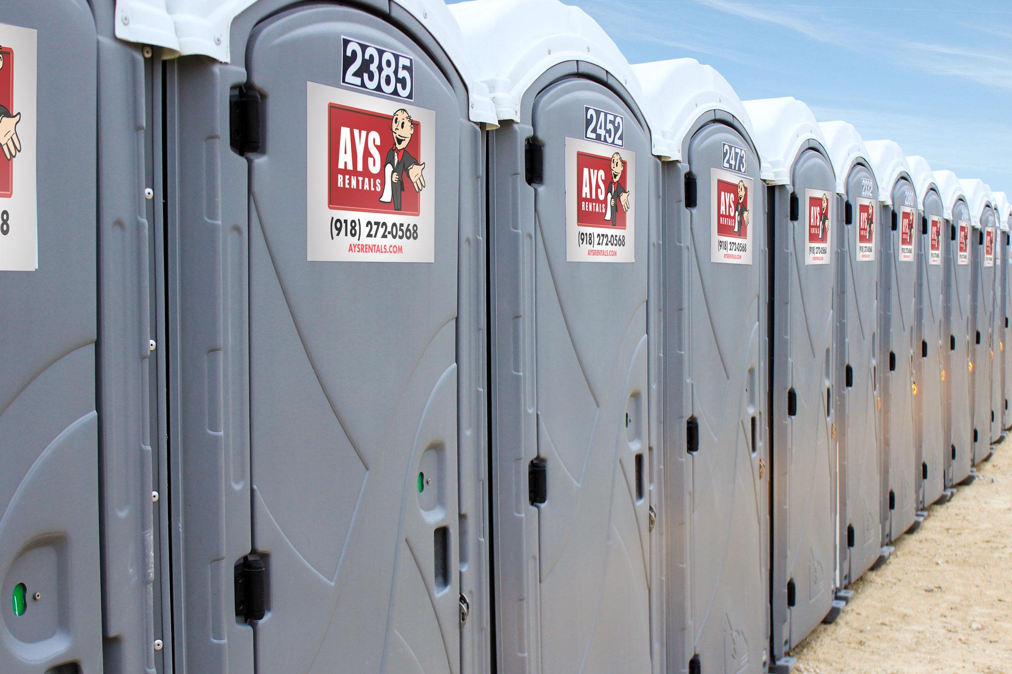 Porta Potty Rentals | AYS OKC - Tulsa